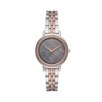 Michael Kors MK3642 Cinthia Ladies Rose Gold/Silver Watch