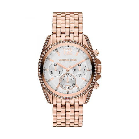 Michael Kors MK5836 Pressley Ladies Rose-Gold Watch