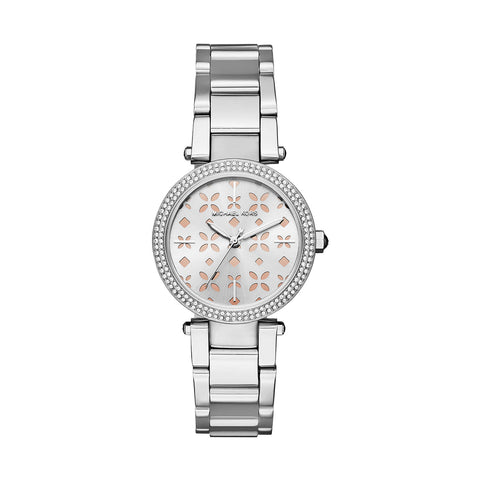Michael Kors MK6483 Mini Parker Ladies Silver Watch