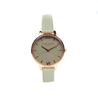 Olivia Burton OB15BD61 Ladies Big Dial Grey Watch