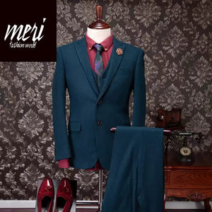 The Warm Ginn Suit - 95%wool - Slim Fit - Warm Suit