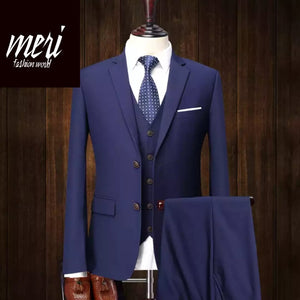 The Business Icon Suit - (Jacket + Vest +Pants)