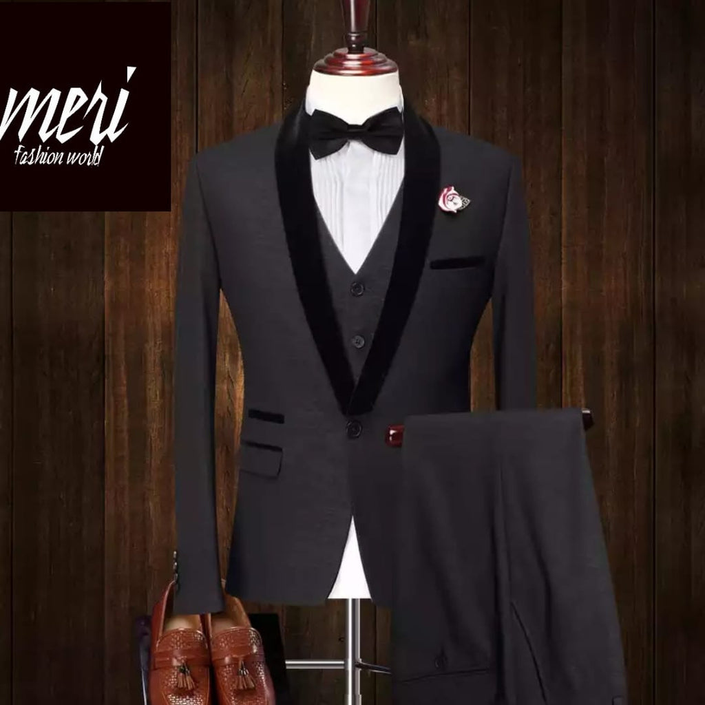 The Groom Suit - (Jacket + Vest +Pants)