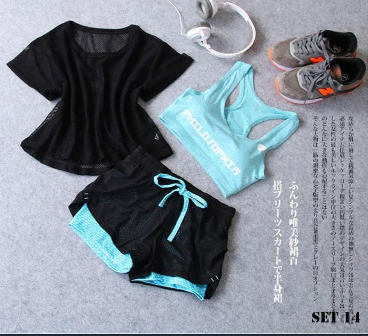 The Flare Set - Fitness