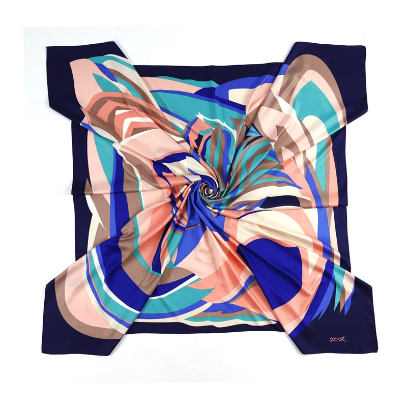 The Print 130x130cm - Silk Scarf