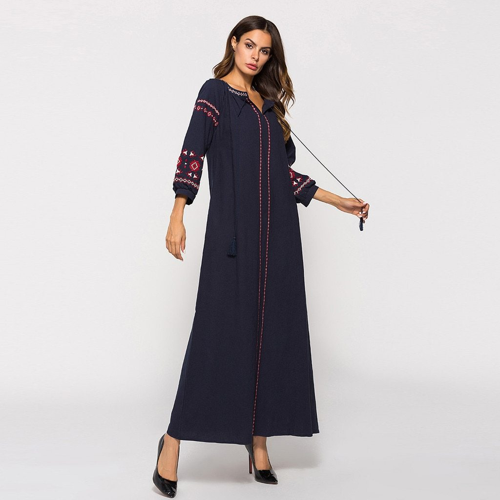 The Embroidered - Abaya