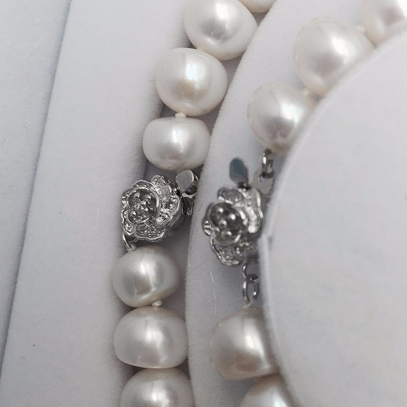 The Lady Set - Pearls and Silver