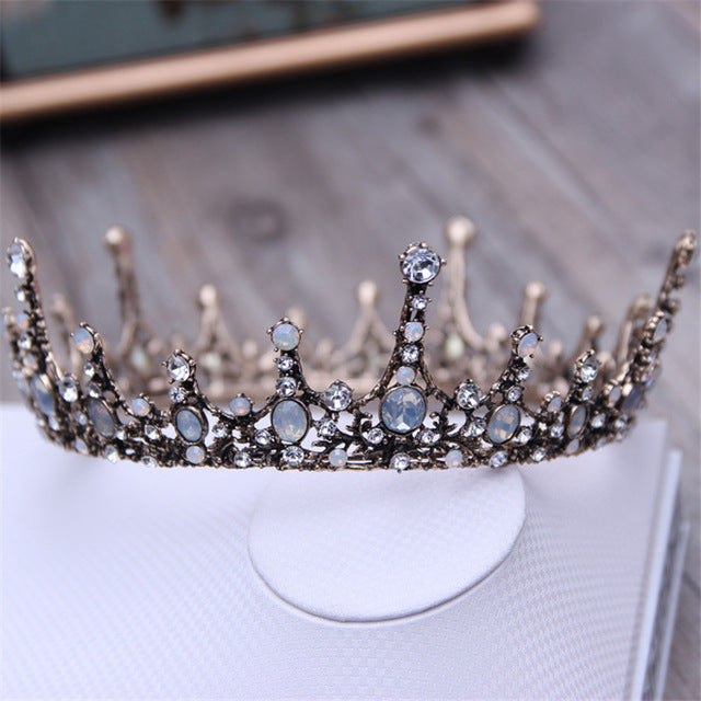 The 3 Style Baroque Crown Headpiece