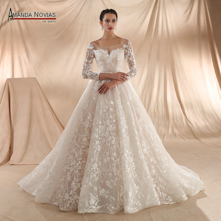 The Glamour Wedding Dress