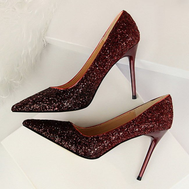 The Sexy Bling Heels