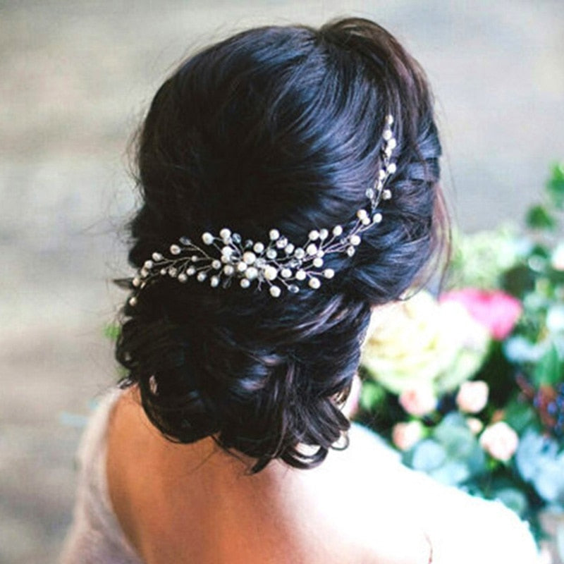 The Bridal Comb Headpiece