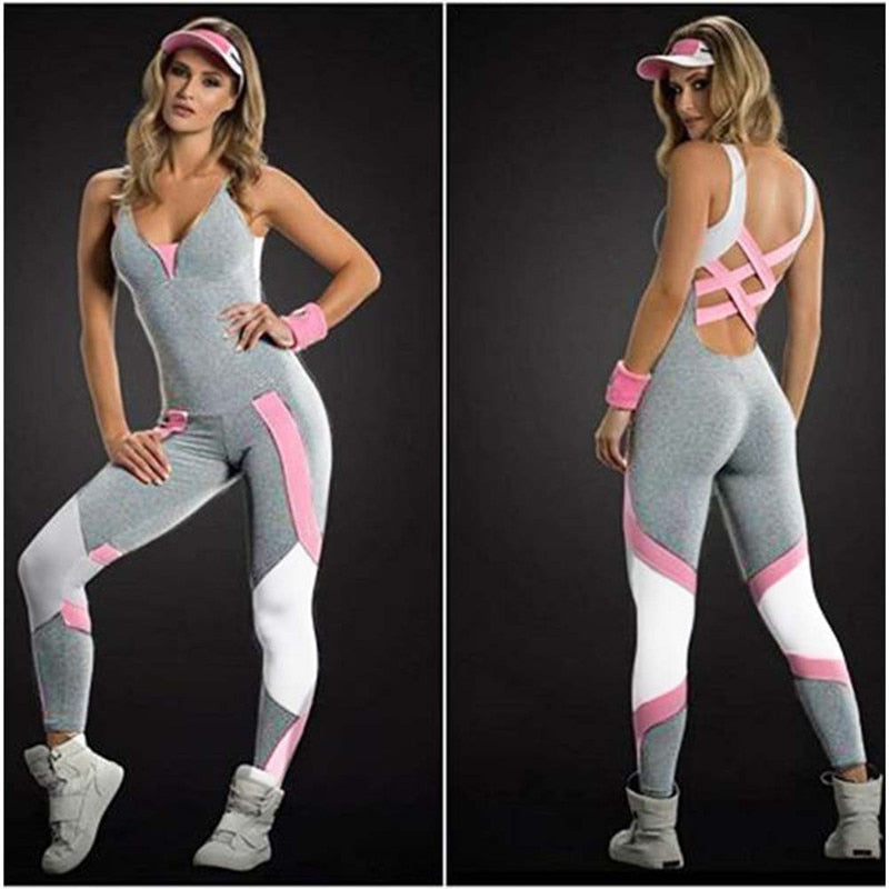 The Bandage Jumpsuit - Fitness
