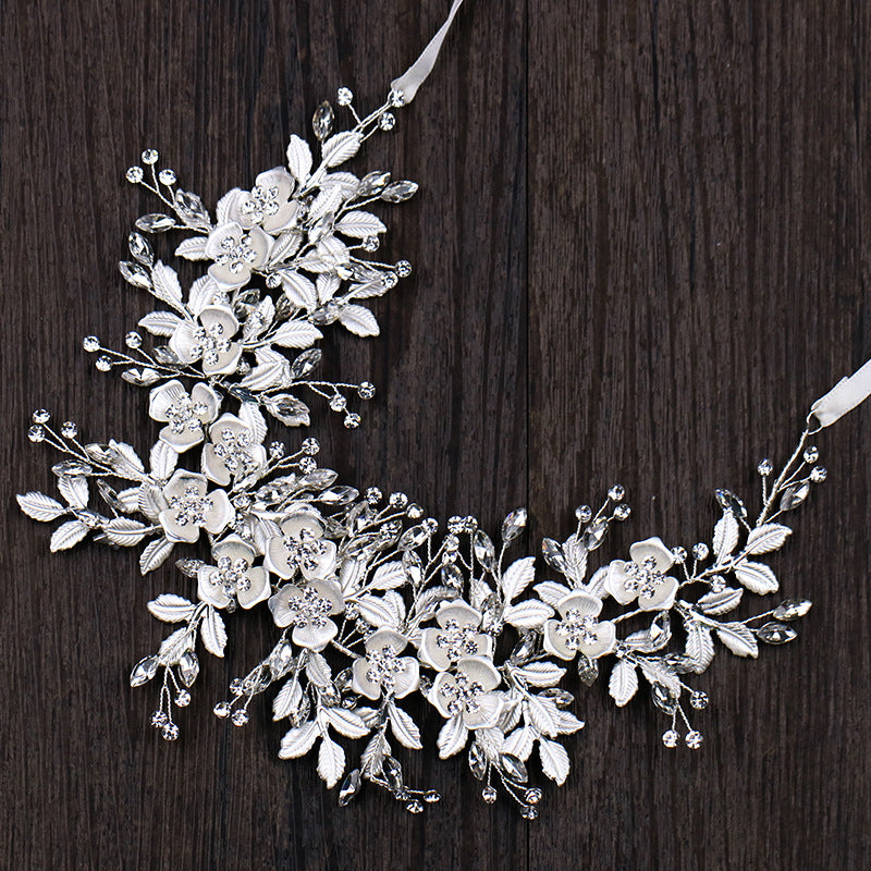 The Silver Leaf Headband - Headpiece