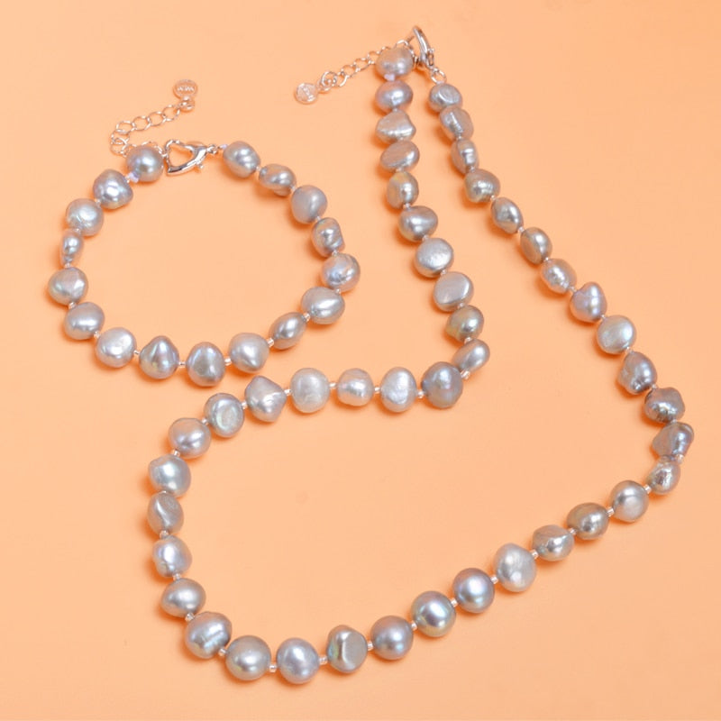 The Fresh Start Set - Pearls and Silver