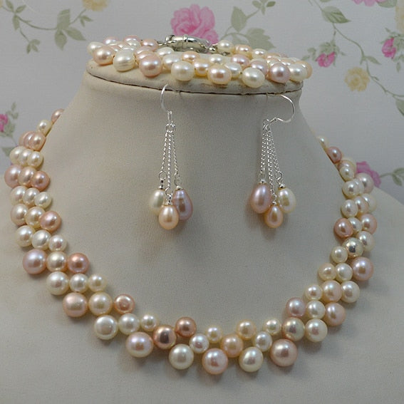 The Princess Set - Pearls and Silver