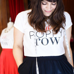 Hello Poppy Row tee