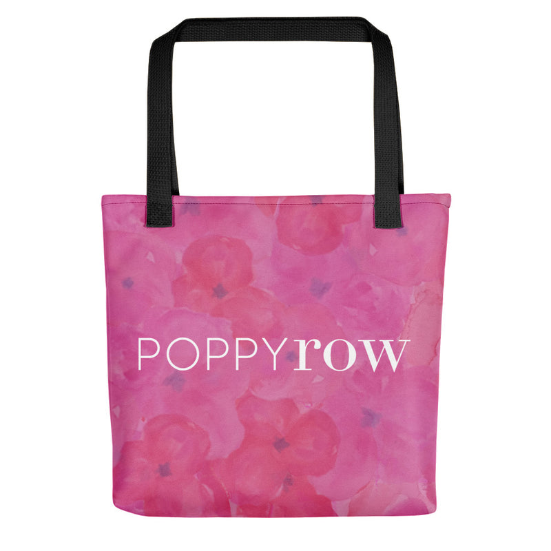 Poppy Row Tote Bag (Small)
