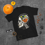 Pumpkin Skull Halloween Is A State Of Mind Unisex T-Shirt