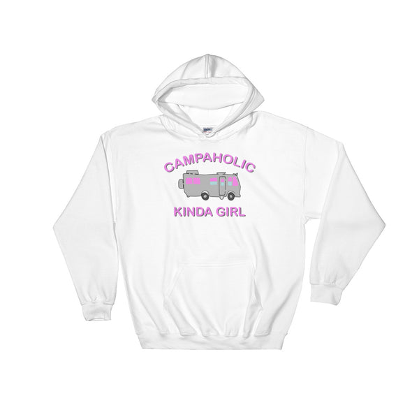 Campaholic Kinda Girl Hooded Sweatshirt