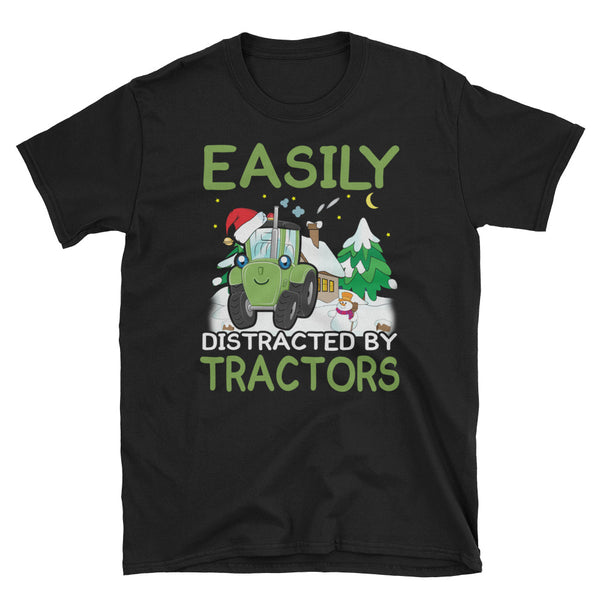 Easily Distracted By Tractors Unisex T-Shirt