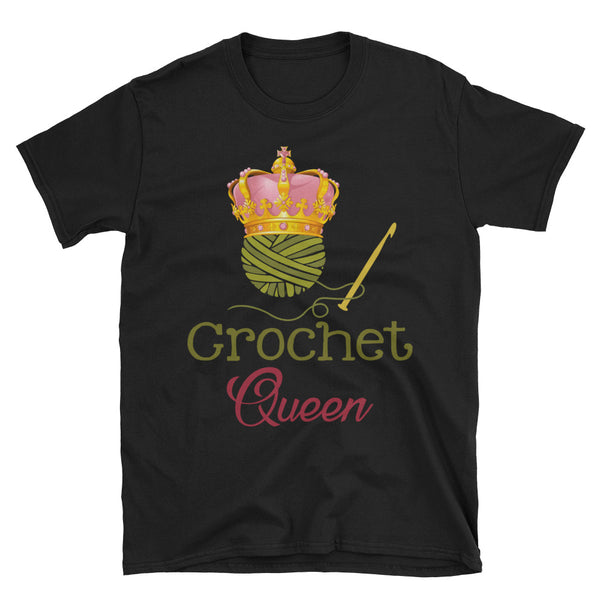 Crochet Queen Unisex T-Shirt
