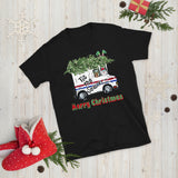 Merry Christmas To Postal Carrier Tis The Season Unisex T-Shirt