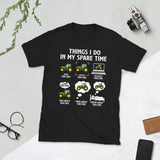 Things I Do In My Spare Time Farmer Drive Tractors Look At Tractors Unisex T-Shirt