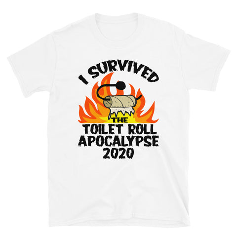 I Survived The Toilet Roll Apocalypse 2020 Unisex T-Shirt