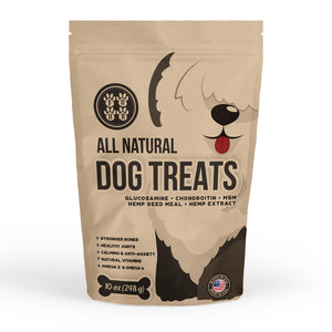 Premium Dog Training Treats with Omega 3 Hemp & Hemp Extract for Puppies and Senior Pets