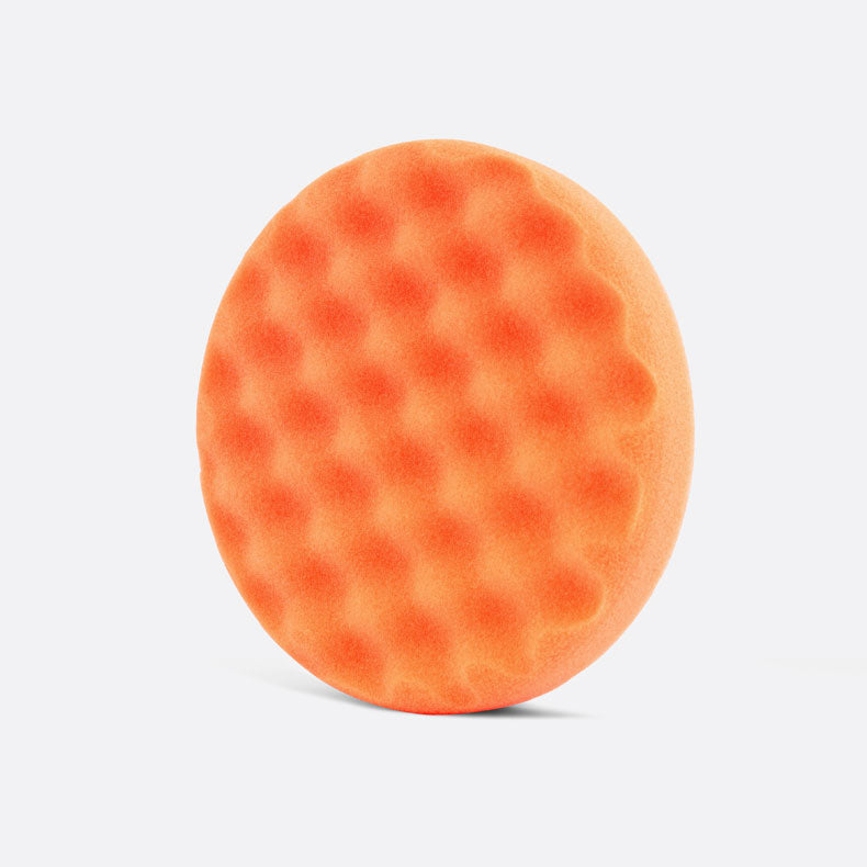 Waffle Orange - waffle foam cutting pad, 150mm (6 inch) OFFER