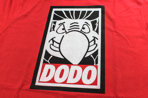 Dodo OBEY T-Shirt - Red OFFER