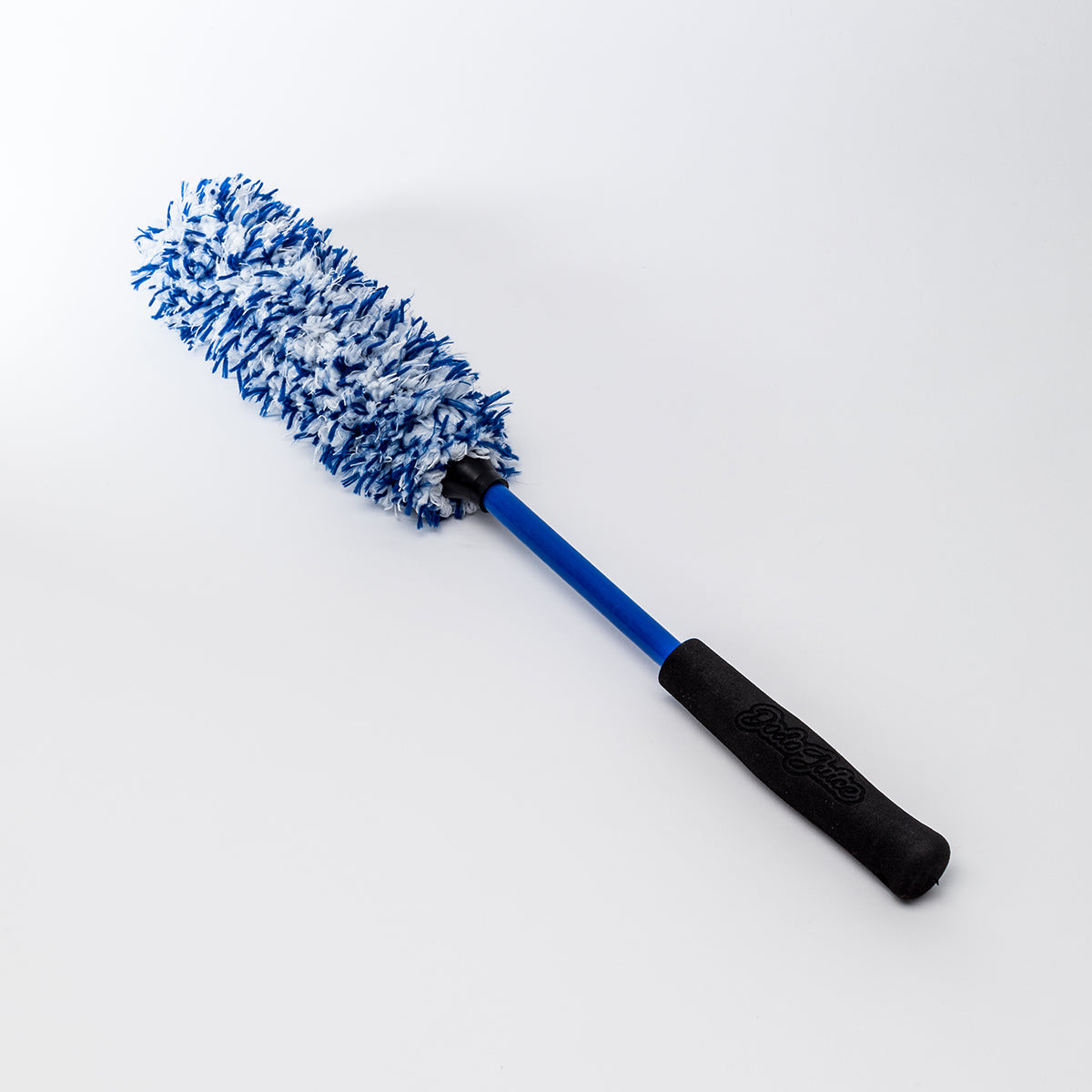 Barrel Brush - soft microfibre wheel cleaning brush - long handle for deeper cleaning
