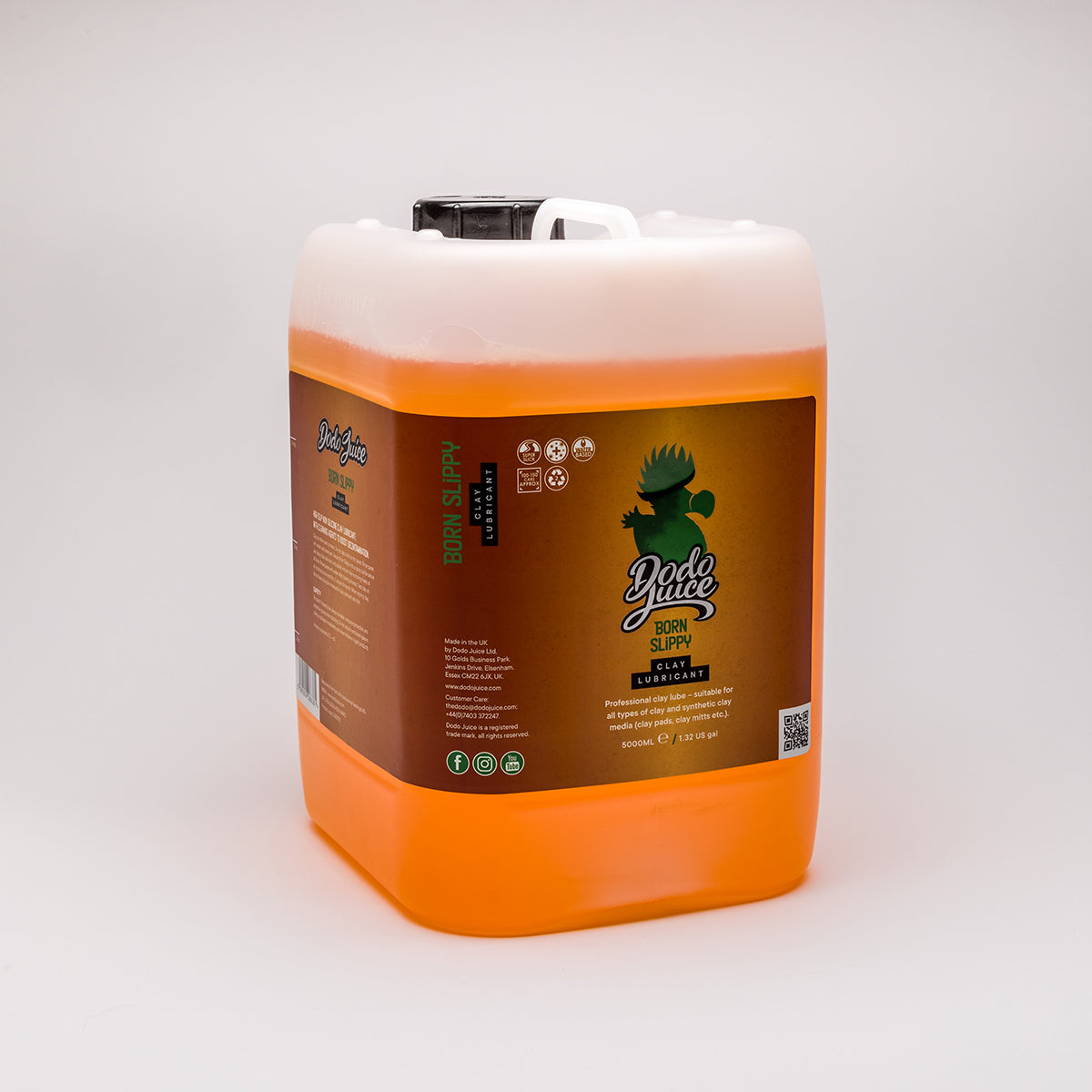 Born Slippy 500ml/5 litre - specialist clay lube (silicone free, increases cleaning performance during claying)