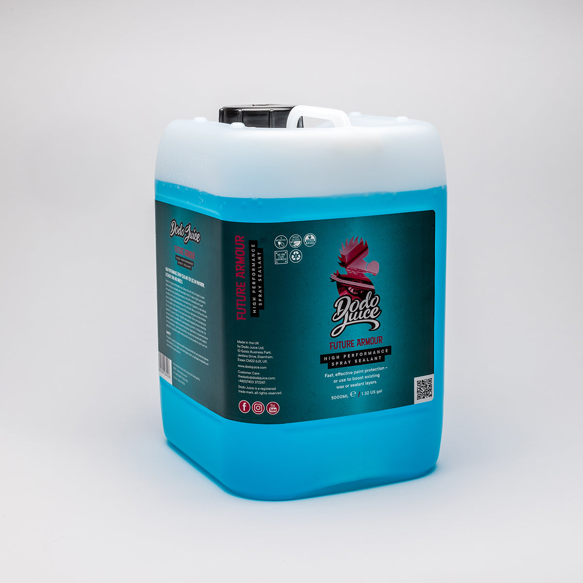 Future Armour 500ml/5 litres - high-performance nano spray sealant (wet or dry application)