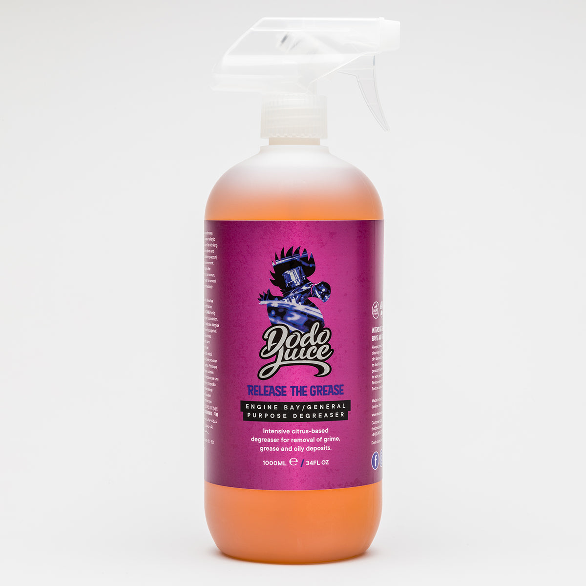 Release the Grease 1 litre spray - engine bay cleaner/strong citrus degreaser