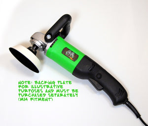 Spin Doctor PRO rotary machine polisher - 1100W, M14 spindle, UK plug CLEARANCE