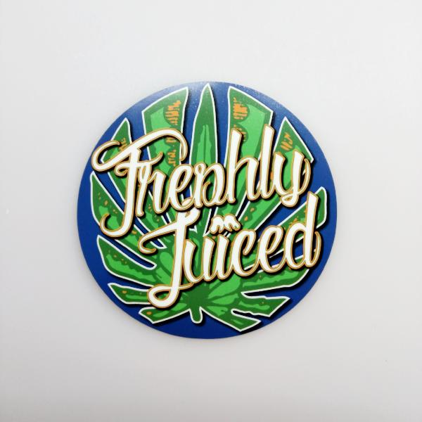 Freshly Juiced Roundel - vinyl scene sticker