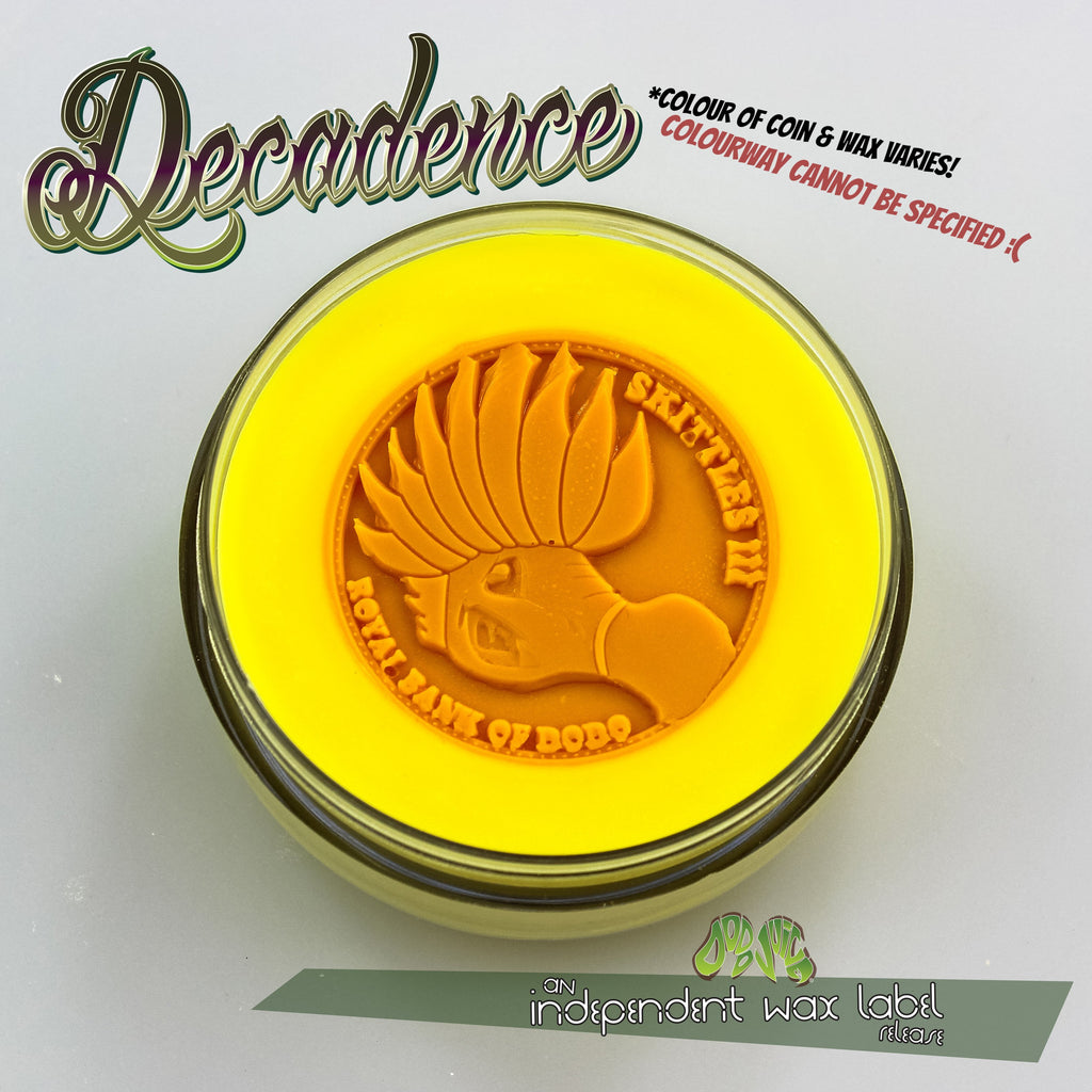 Decadence 100ml by HB Sauce - soft wax with embedded hybrid wax coin - very limited edition!