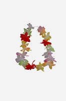 Garland/Lei mirror hanger - multi-colour - small
