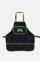 Detailing Apron - microfibre detailing apron with machine polishing cable loop
