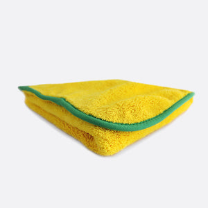 Double Touch - plush 2ply microfibre drying cloth 60x60cm 800gsm - highest absorbency