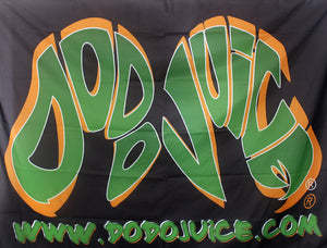 Dodo Juice logo flag - 6ftx4ft fabric banner