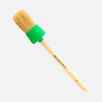 Hog Brush Large 40mm - hog's hair detailing/wheel brush with plastic collar/ferrule
