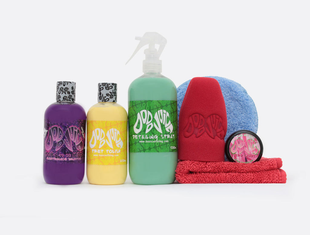 Car Care Kit for Her - starter bundle, makes a perfect gift (8 items) £5 saving