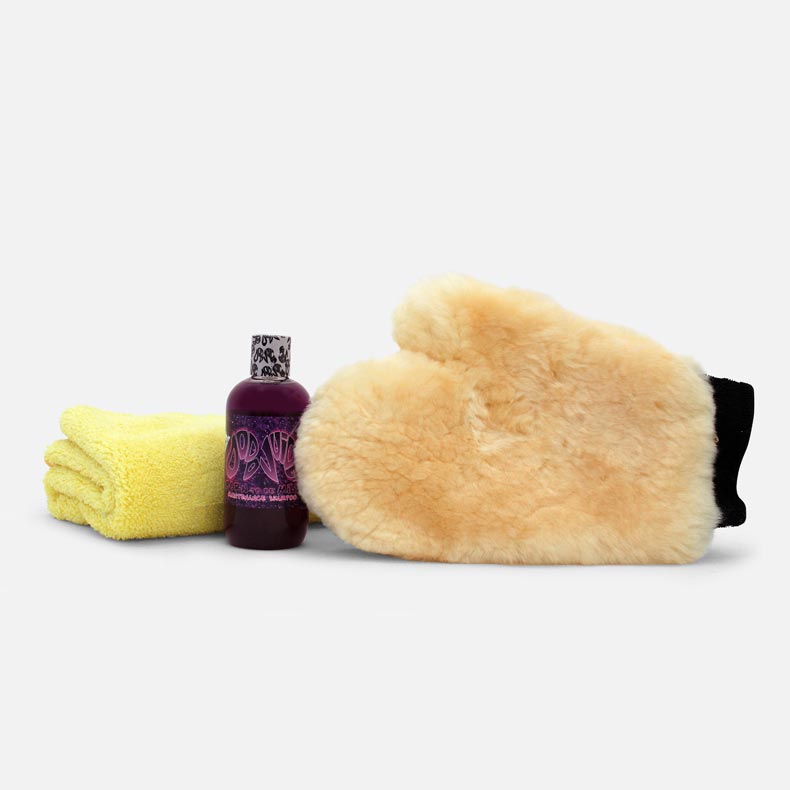 Tribble Wash Kit - classic mitt'n'bits wash bundle (3 items) £4 saving