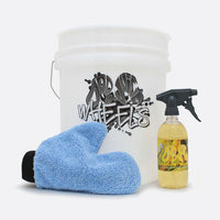 Wheely Clean Bucket Kit - wheel care bundle with bucket (option of bucket filter)
