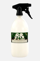 Let Us Spray chemical resistant spray bottle - HDPE with Viton seals - 500ml, 1 litre