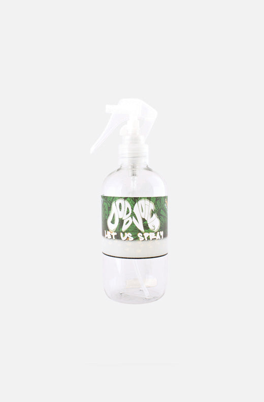 Let Us Spray trigger spray bottle - clear PET plastic - 250ml, 500ml, 1 litre