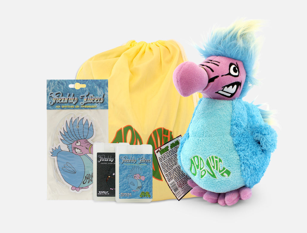Mr Skittles Souvenir Kit - fluffy Dodo Juice mascot tribute bundle (6 items) £7 saving