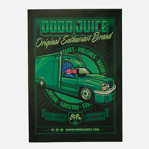 Original Enthusiast Brand - Dodo Juice poster, A2 size (featuring Mr Skittles)